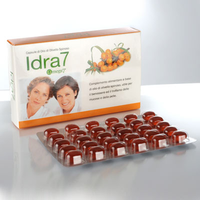 Idra 7 (omega7) olio di o livello spinoso herbapharma