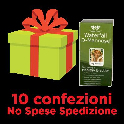 d-mannosio waterfall pacco convenienza 10+1 omaggio
