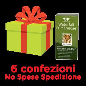 d-mannosio waterfall pacco convenienza 6pz