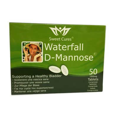 d-mannosio waterfall, mannose, cistiti, herbapharma
